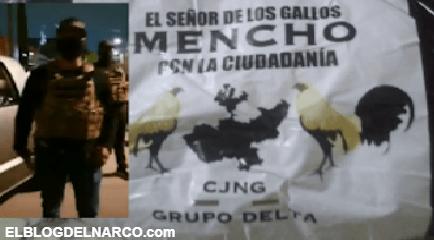 """VÍDEO: El CJNG continúa repartiendo despensas en territorio de """"El Mencho"""""""