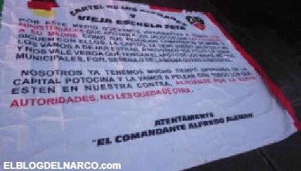 Aparece el Cártel de los Alemanes, 'nacido' de los Zetas, y amenaza a San Luis Potosí