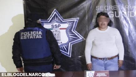 """Capturan a Cecilia V, alias """"La Reina del Sur"""", tiene nexos con """"El Loco Téllez"""" en Puebla"""
