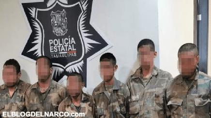 Detienen a seis sicarios del Cártel del Noreste en Camargo, Tamaulipas