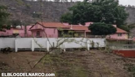 """La famosa casa rosa, al interior de la mansión que """"el Chapo"""" construyó para su madre Consuelo Loera"""