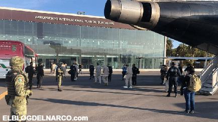 Llegan 320 reos del Cartel de Santa Rosa de Lima de El Marro a Coahuila