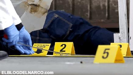 Sicarios del narco disparan a quemarropa a cuatros, una mujer muere por las heridas