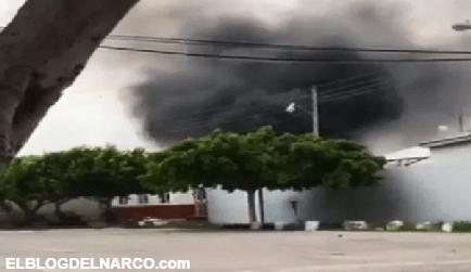 VIDEO La Nueva Familia Michoacana en 50 trocas ataca base de Guardia Nacional