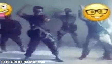 VIDEO Sicarios del narco se unen a retos de baile y lo difunden en redes