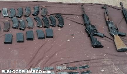 VIDEO Soldados se enfrentan a Carteles Unidos en Michoacán, abaten a 4 y hacen correr a los demás