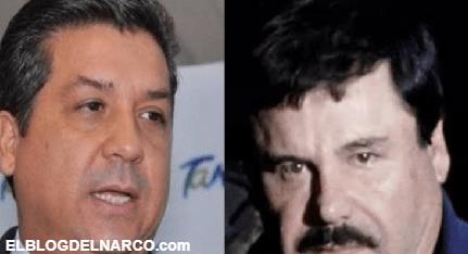 Cabeza de Vaca Gobernador de Tamaulipas sostuvo junto a García Luna reuniones con El Chapo