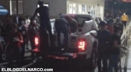 Otra vez, Sicarios de Los Chapitos regalan comida en hospitales de Culiacán, Sinaloa