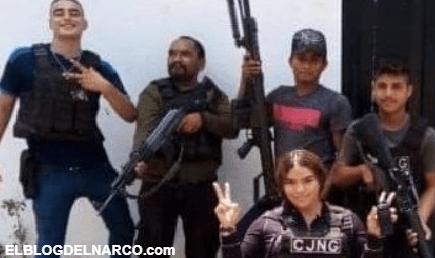 """Sicarios de los Viagras ejecutan a """"La Guadaña"""" joven Sicaria del CJNG en Aguililla y se burlan de ella"""