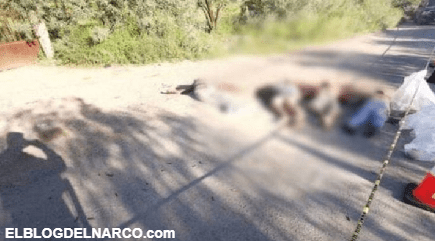 Sicarios ejecutan a cinco integrantes de Los Panchos en Villa de Ramos; San Luis Potosí