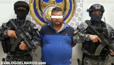 """Capturan a """"El Azul"""" era el nuevo jefe del Cartel de Santa Rosa de Lima y sucesor de """"El Marro"""""""