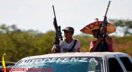 Con fusiles y lanzagranadas, las infames tácticas del C.J.N.G contra los desplazados en Michoacán