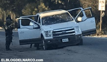 Convoy de los Chapitos se enfrentan a policías en Sinaloa, hay cuatro sicarios detenidos