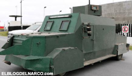 FOTOS Así son los vehículos monstruo del Cártel del Golfo con los que retan a las autoridades