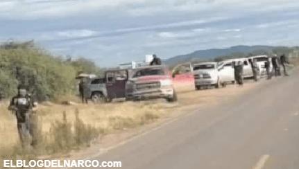 """Sicarios en Sonora amenazan a pobladores """"Tienen 20 días para irse"""", en retén ilegal quitan carros y pertenencias"""