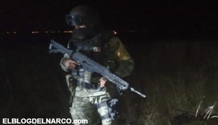 Soldados decomisan Arsenal en San Luis Potosí, los Sicarios del CJNG huyeron y dejaron todo