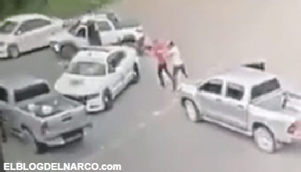 VIDEO Así fue como Sicarios del CJNG interceptaron y levantaron a jefe de La GN en Colima