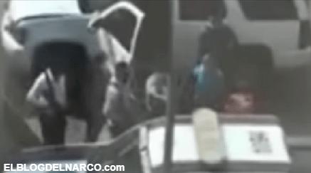 """Video donde Estales intentan rescatar a """"El Flaquito"""" líder del Cártel de Los Arellano Félix capturado por Ministeriales"""