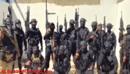 """Video donde unos 20 sicarios de """"el Mayo"""" Zambada fuertemente armados le responde al CJNG"""