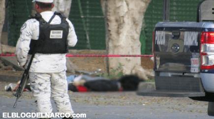 Abandonan los cuerpos de dos hombres con las manos atadas y disparos en la cabeza
