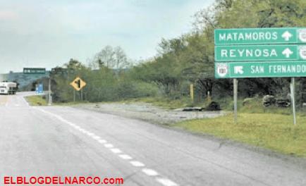Atacan grupo de sicarios del Cartel del Golfo a familia en carretera de Tamaulipas