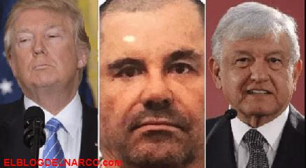 Defensa del Chapo amenaza con demandar a Trump, piden que lo traten igual que a Cienfuegos