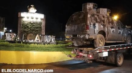 En Tepalcatepec estalla, pobladores huyen tras guerra de Cárteles Unidos vs El CJNG