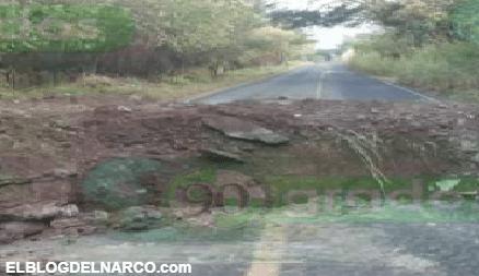 En la Narcoguerra entre el CJNG y Carteles Unidos, Sicarios destruyen carreteras en Michoacán