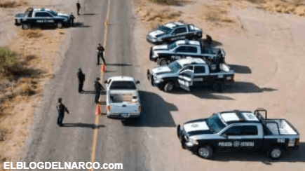Golpe al narco en Caborca; captura a seis hombre armados, con armas de fuego de diversos calibres