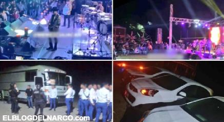 Así era la NARCO Posada de Los Chapitos (quienes salieron corriendo) con mil asistentes, donde se rifarían autos 2021