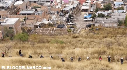 Aterrador hallazgo, 14 narcofosas recientes en zona de influencia del Cártel de Santa Rosa de Lima
