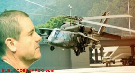 Como si estuvieran en su casa agentes de la DEA utilizaron helicópteros propios para capturar a El Chapo en Sinaloa