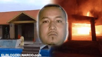 """Antes el lo hacia, ahora le toco, Grupo Armado incendio casa del líder Huachicolero """"El Marro"""" cerca de Celaya"""