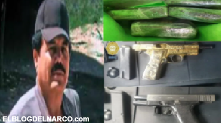 Cayeron dos emisarios del Mayo Zambada, tenían pistola bañada en oro