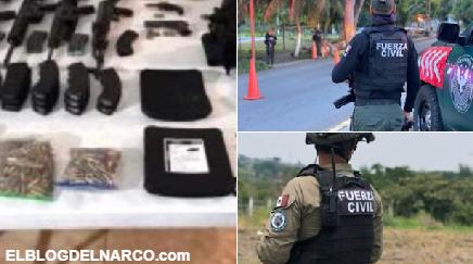 Detienen a ocho peligrosos sicarios del Cártel del Golfo con con drogas y armas