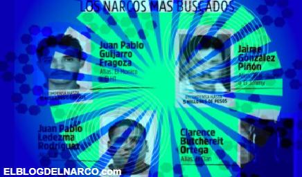 El Mayo, El Mencho, El H1, el JL y otros son los narcos mexicanos más buscados