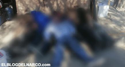 Levantan, ejecutan y apilan a cinco jóvenes en Tecate, Baja California