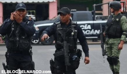 'Narcos' pagan a civiles para que ataquen a policías de Michoacán