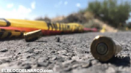 Sicarios motorizado acribillan a balazos a dos hombres en Guadalupe, Nuevo León