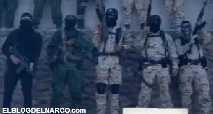 VIDEO Grupo Guerrero del CJNG acusa al CDS de los ataques, levantones en Zacatecas