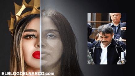 """A Emma Coronel esposa del Chapo su compadre """"El Licenciado"""" la puso, le fabricaron delitos por una carta"""
