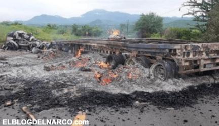 Confirman balaceras en varios puntos de Tepalcatepec, Michoacán, señalan ataque del CJNG