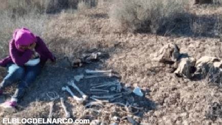 """""""Falta el cráneo"""", dijo madre tras hallar a su hijo desaparecido en territorio narco (VIDEO)"""