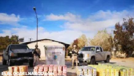 Narcos atacan a soldados mexicanos y se quedan sin miles de libras de droga