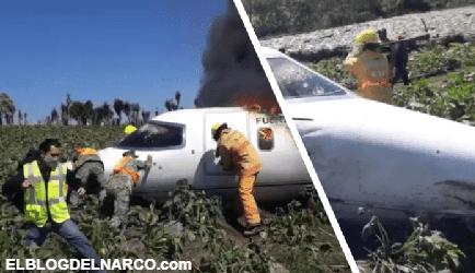 Se desploma Jet de la Fuerza Aérea antes de aterrizar en aeropuerto en Veracruz (VIDEO)