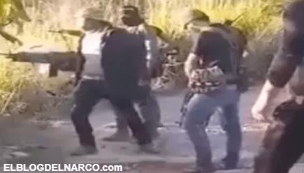 Sicarios del Cártel de Sinaloa muestran su poderío durante entrenamiento (VIDEO)