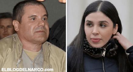 """""""El Chapo"""" está preocupado por Emma Coronel, ya se enteró que su esposa se encuentra en prisión"""