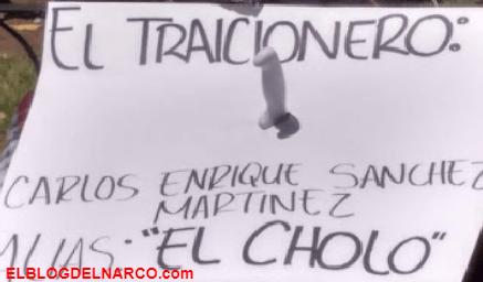 FOTOS Así quedo 'El Cholo' el fundador y líder del Cártel Nueva Plaza por traicionero