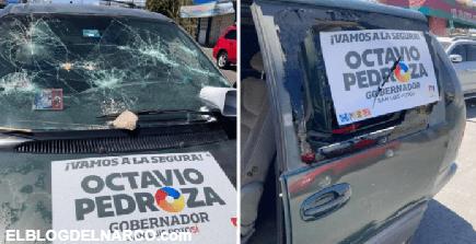 FOTOS Autoatentado PAN condena atentado contra ellos en Soledad en San Luis Potosí