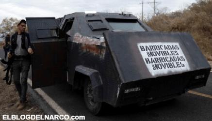 FOTOS La Guerra total en Tamaulipas, narcos se enfrentan con tanques Monstruo